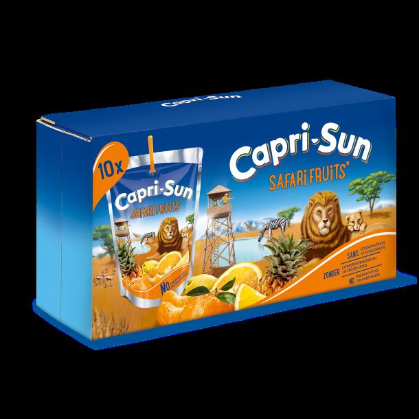 Capri-Sun Safari 20 cl. 1 x 10 stk